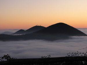 Mare di nuvole sui colli Euganei